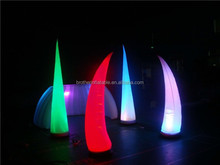 CE certification Party/event/club decorations LED inflatable elephant tusk