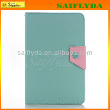 High Quality Korean Style Book Flip Belt Clip Case for iPad Mini Case