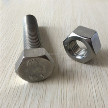 M10 grade 8.8 Hot dip galvanized coating hex bolt and nut