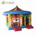 Kids inflatable combo bouncer jumping castle with slide