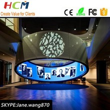 high quality wall mounted full color led screen video HD led display indoor p4 screen