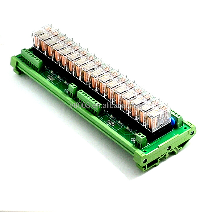 <strong>16</strong>-channel Relay Module Module Control Panel driver Board PLC Amplifier Board G2R-1-E 24V 8 Feet