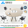 high quality oval conference table office working foldable table