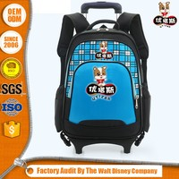 Special Design Cheaper Environmental Child Trolley School Bag
