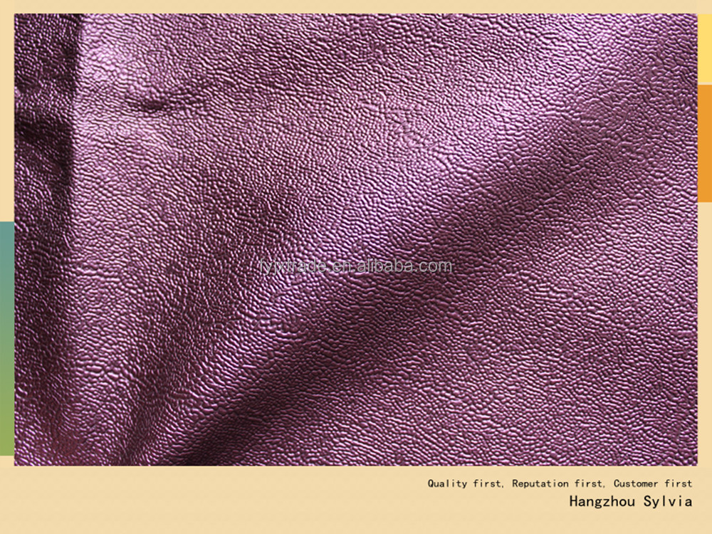 New design Semi PU upholstery leather material for sofa and decoration