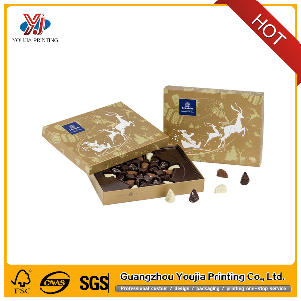 Factory made health cardboard chocolate packaging box or for food and cake