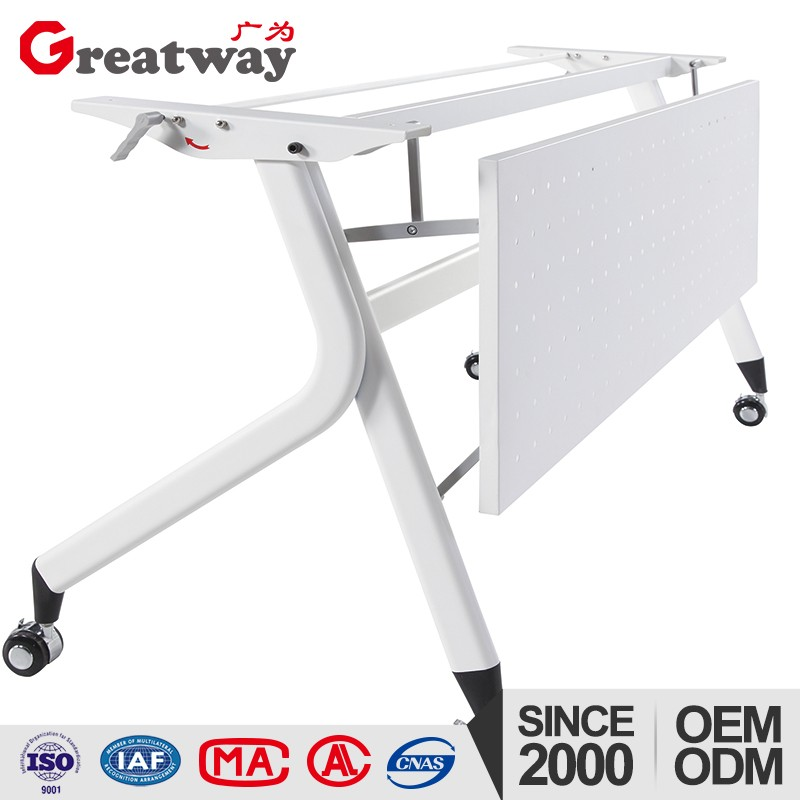 GongDong Fashion korean Folding table with wheel
