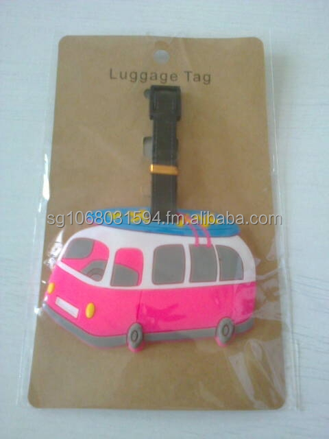 Luggage Tag - Van 2
