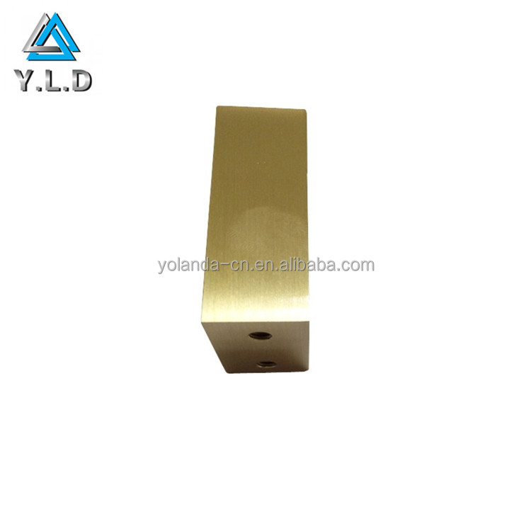 ISO SGS ROHS Certified Factory Ultra Precision Brass CNC Milling Electrical Part