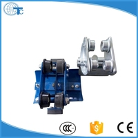 top quality cable trolley steel conductor rail for lifting appliance