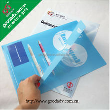 Promotional gifts advertising printing file decoration with school file