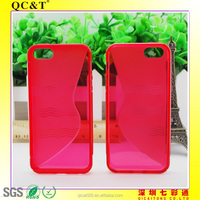 S style TPU phone CASE for Apple Iphone 5G/S