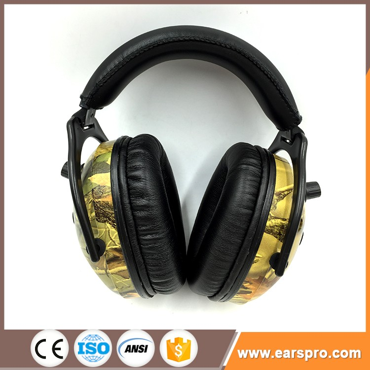 2017 Wholesale Ce ANSI AS/NZS standard ear cover sound proof headband ear muffs