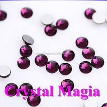 wholesale flat back crystal stones for nail art decoration