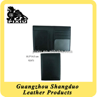Superior Quality Custom Promotion Pure Cow Leather Passport Bag