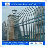 wrought iron fence fittings