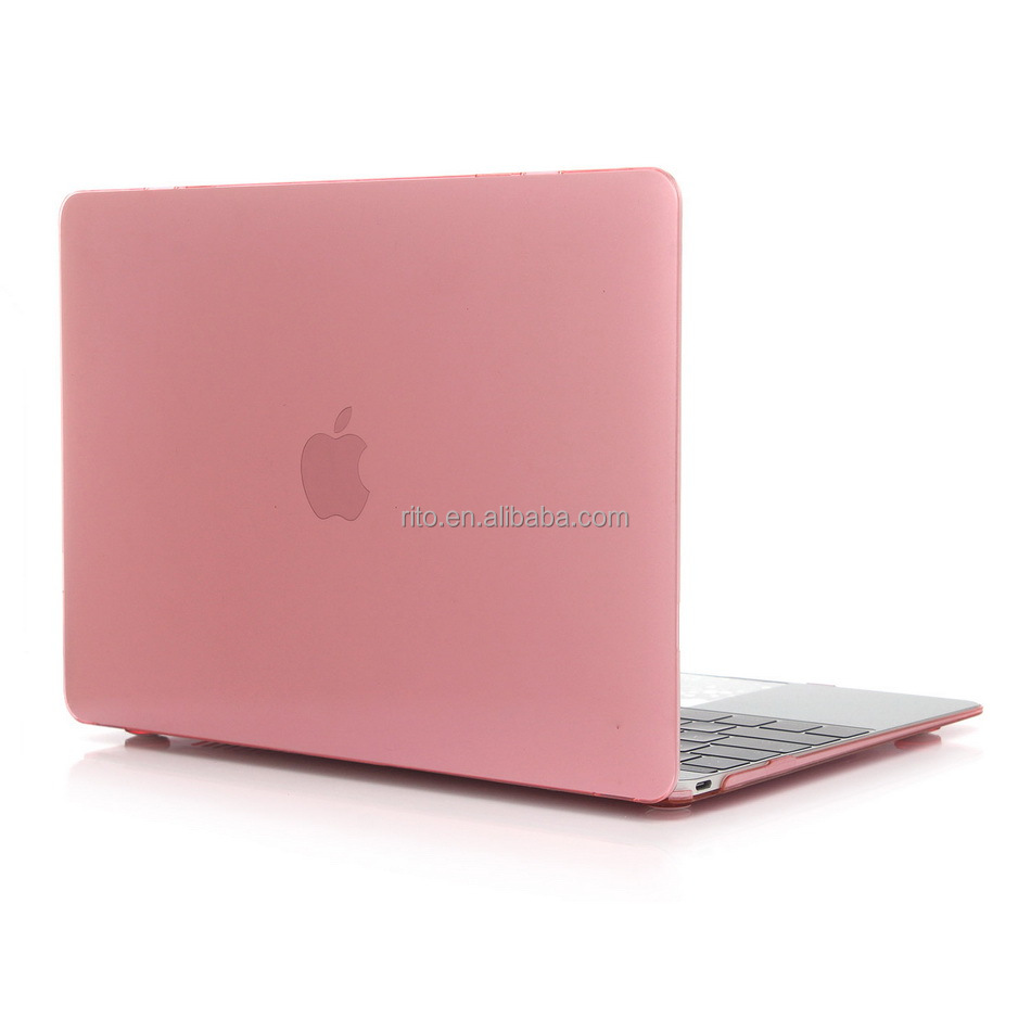 NEW Crystal Clear rubberized Hard Case For Apple macbook New Retina 12 inch Protector