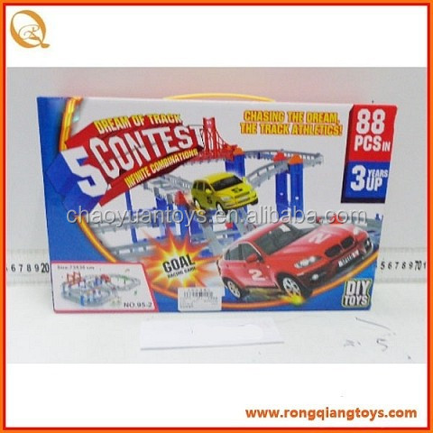 <strong>B</strong>/<strong>O</strong> train track toys, for <strong>kids</strong> indoor play 88pcs BO280795-<strong>2</strong>
