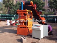 Patent product!!! SY1-10 eco 2700 clay interlocking soil brick machine fully automatic