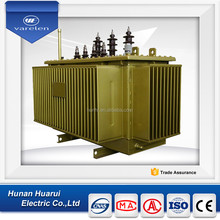 60kv power transformer three phase oil type with copper windings
