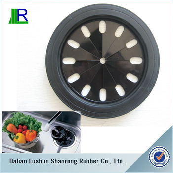 2 Sizes In 1 Rubber Cover for Kitchen Sink