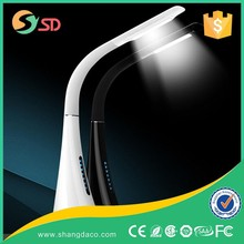 8000mAH Li-polymer Folding Rechargeable Cordless LED Office Desk Lamp Wireless table lamp rechargeable table lamp
