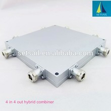 Best China supplier N type connector 4:4 rf Hybrid Coupler / Combiner 4x4 type