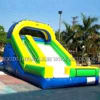 Large inflatable water slide, commercial use slide B4038