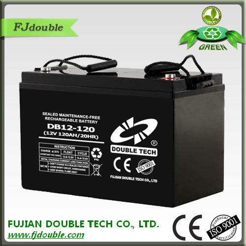 Sealed Sealed Type and UPS Usage Battery Manufacturing Plant 12V 120AH