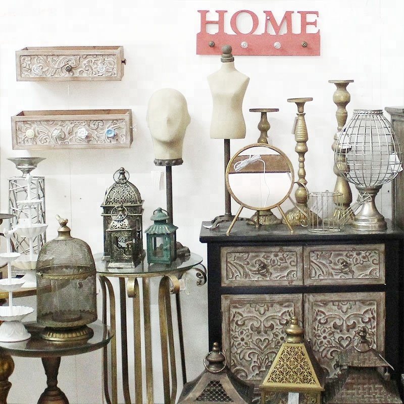 Wholesale Home Interior | China Luckywind Handmade Wholesale Rustic Antique Vintage Home Decor