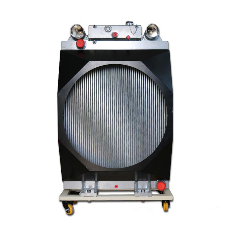 Industrial Fuel Coolers : Cooling system industrial machine hydraulic oil cooler