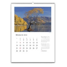Cheap Wholesale Large Size Wall Calendar Printing