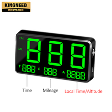 -KINGNEED C80 cheap hud head-up display for all vehicle car universal digital gps speedometer