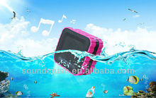 bluetooth mini speakers with lanyards rubberized painting fashion