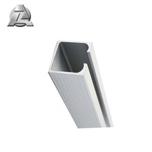 durable anodized 6000 series aluminium c section sizes