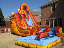 Free shipping professional inflatable hippo water slide