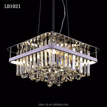 Indoor Chandelier Lighting Contemporary Led Crystal Ceiling Lamp