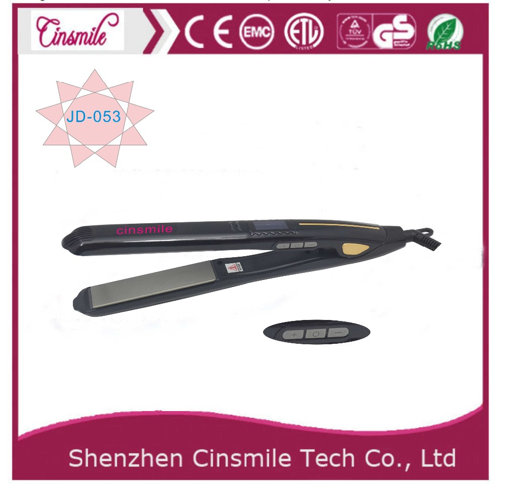 Fast Electric personalized hair straightener hair flat iron for short hair