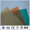 1.5mm thick plastic roof diamond embossed pc sheets