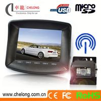Free 12M long range support max 4 wireless camera digital car monito