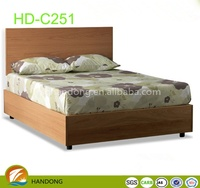 hot selling solid wood bed /bedroom furniture HD-C251 Quality Choice