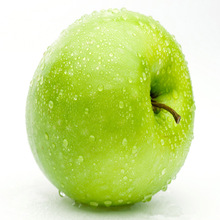 China fresh green delicious apple