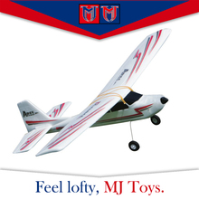 4CH high wing flying plane easy be under control rc glider for beginners