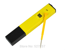 Pocket Digital PH Meter LCD Display Aquarium Pool Water Wine Portable ph Meter Tester with Yellow Pen