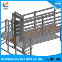 low cost high quality high quality electric galvanized cattle fence