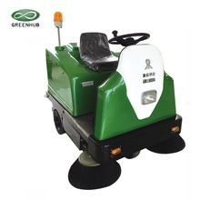 outdoor 36v battery powered industrial electric street sweeper
