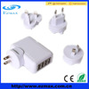 4 ports usb charger, travel charger, multi charger