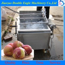 high quality stainless steel 304 industrial fruit ozone water bubble leafy vegetable washing machine