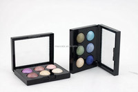 Professional high quality 6 color eye shadow