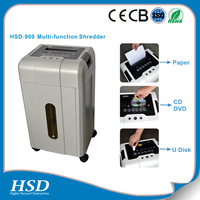 cross cut 1x2 mm paper shredder with CE